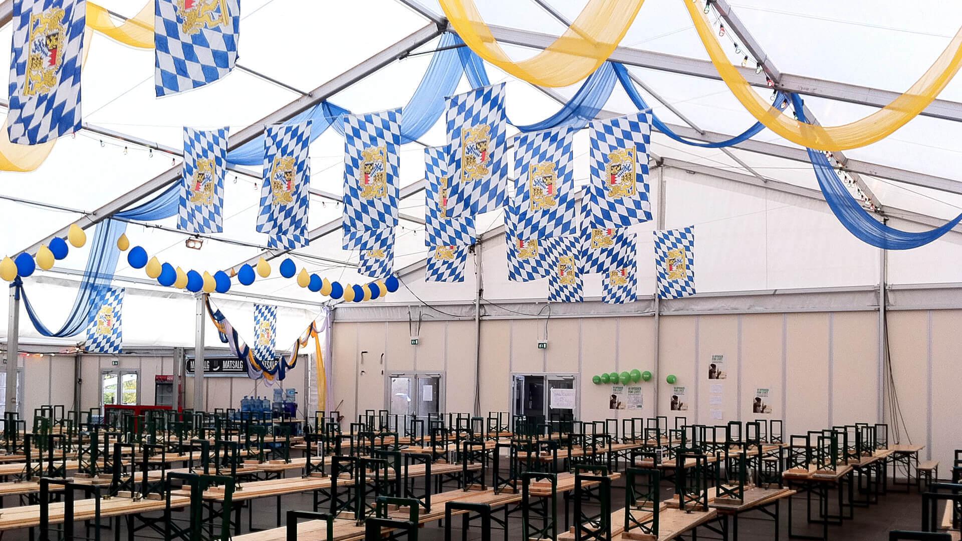 Partytält | partytält för dina festevenemang | Flera modeller